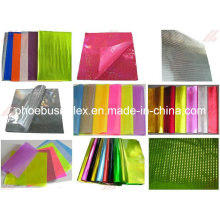 Materiales reflectantes de recorte Hojas de PVC