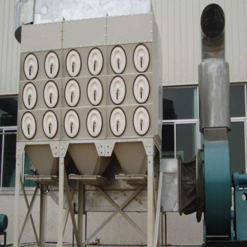 Compact Bag House Dust Collector System