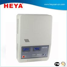 Montaje en pared Colorido Display Servo Motor AC Estabilizador de Voltaje / 8kva AVR para electrodomésticos