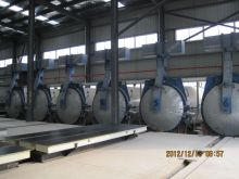 Wood Chemical Large - Scale Equipment / Aac Autoclave Φ2.68 * 31m