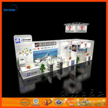 modular aluminium exhibition stand custom 3d exhibition stand design for free and building from Shanghai for trade show