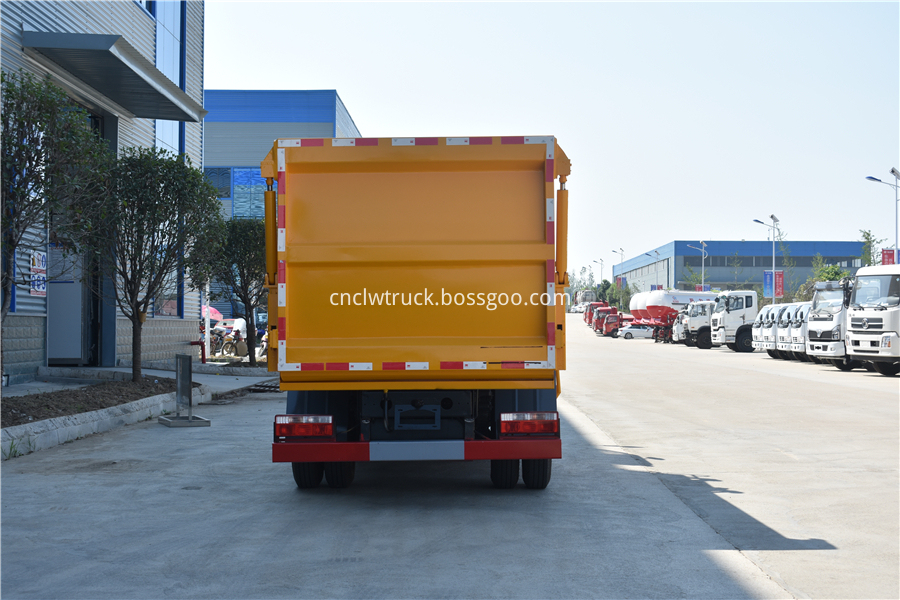 kitchen waste truck manufacturer