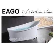 ЕАГО свободный стоящий Классическая овальная акриловая ванна GFK17001 пузырь