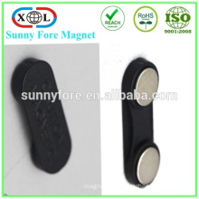 industrial application badge magnet neodymium monopole magnet