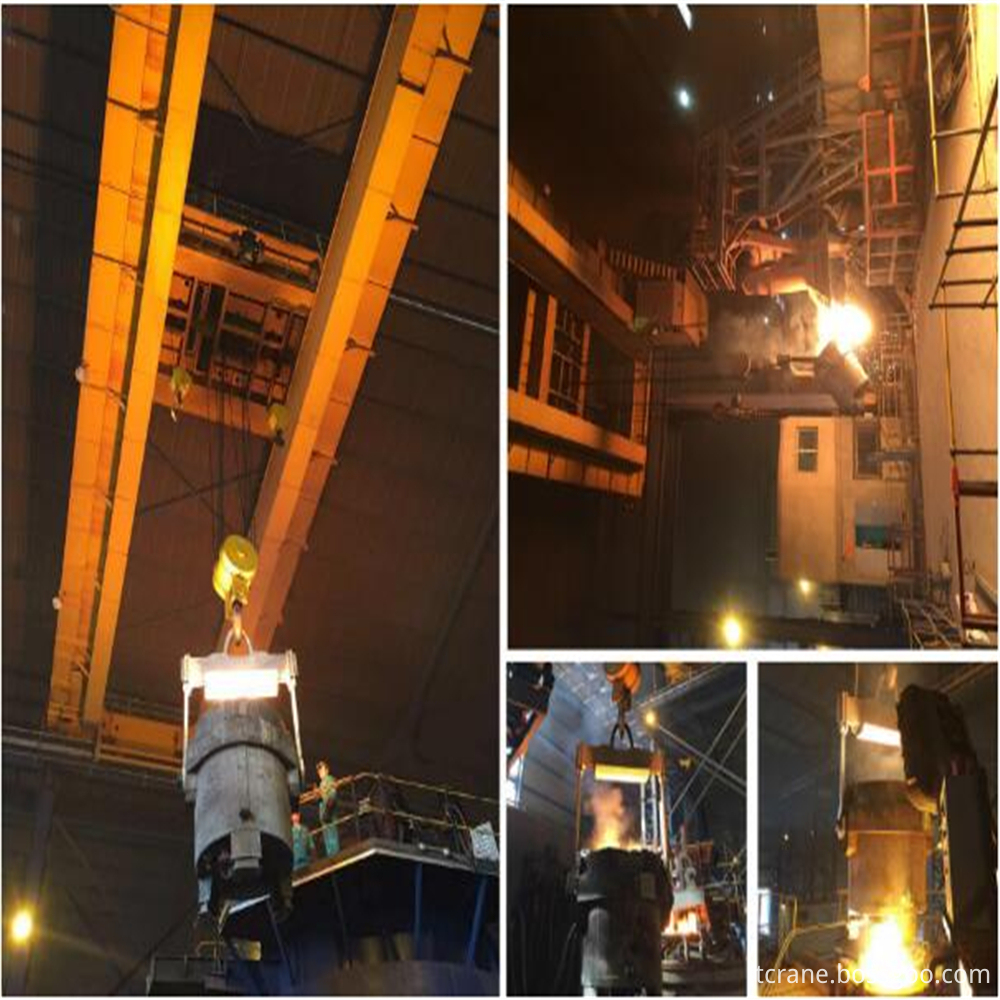 Steel Meltshop Ladle Lifting Hook-LT100
