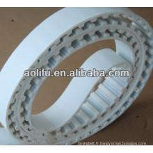 Unité centrale ceintures ouverts blanc courroies synchrones