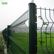 PE+coated+Galvanized+triangle+bending+mesh+fencing