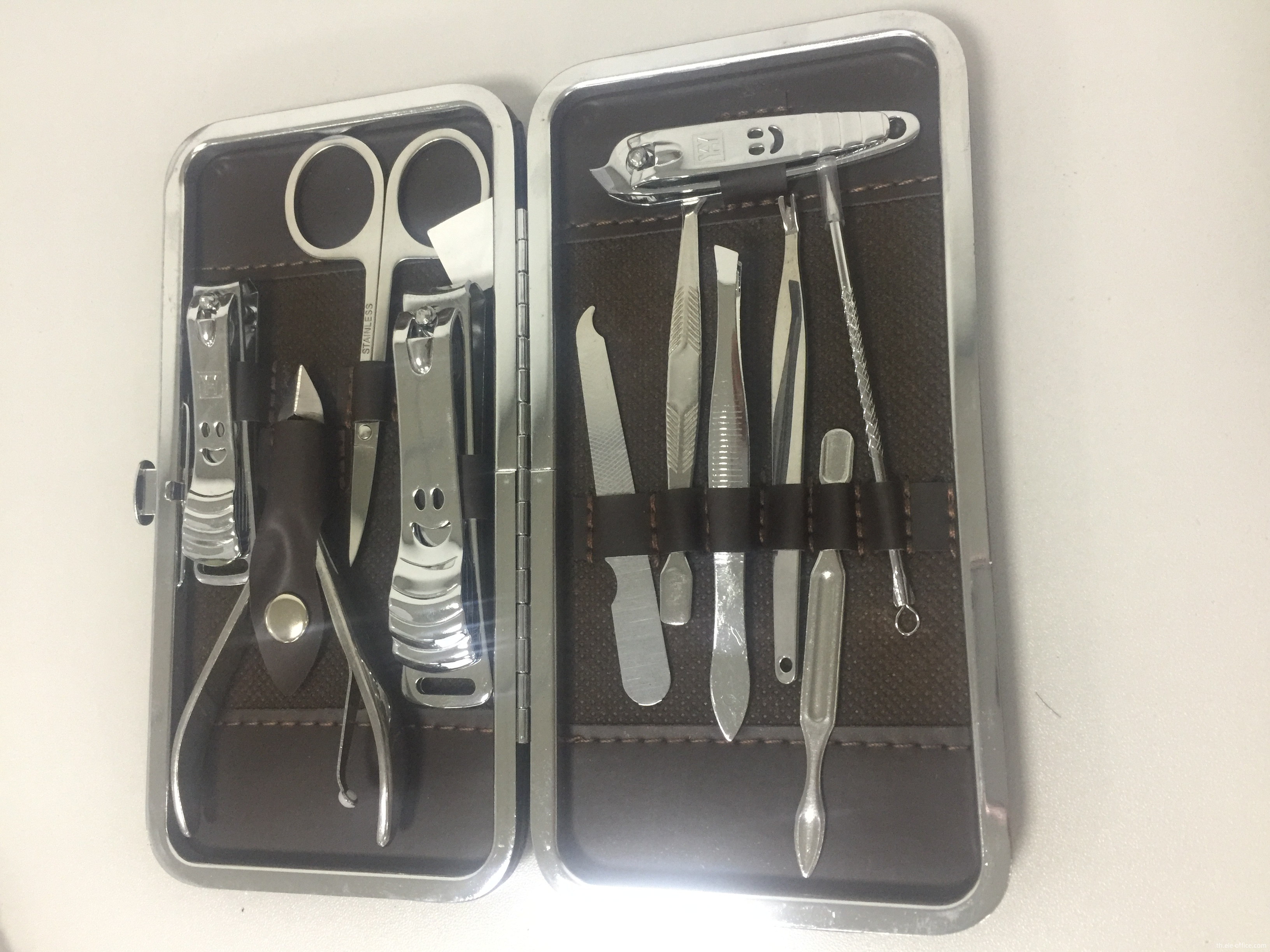 carbon steel manicure set