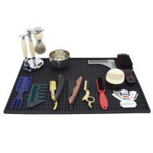 The New Style Custom Logo Salon Table Rubber Barber Mat Beauty Salon Mat Hair Salon Mat
