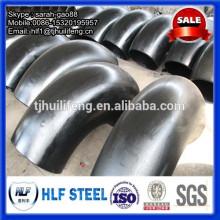 Dn200 coude de tuyau d'acier au carbone