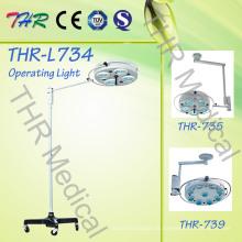Thr-734 Hospital Medical Lâmpada cirúrgica de funcionamento