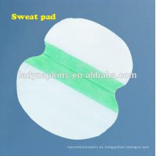 almohadilla absorbente de sudor desechable hot-seller, almohadillas de sudor almohadillas axilas en verano