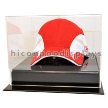 Sports Wear Loja de varejo Capa de acrílico Capa de exibição de mesa, estojo de chapéu de vidro antigo