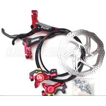 Bicicleta de montaña ZOOM Set de frenos hidráulicos de disco delantero y trasero + HS1 Rotor de freno