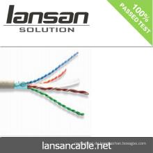 Bester Preis cat6 FTP lan Kabel 23AWG pass Fluke Test