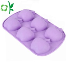 Apple Shape Cake Mold Funny Silicone 6Cavity Mold
