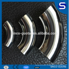 90 degree elbow Stainless steel Sanitary pipe fittings price