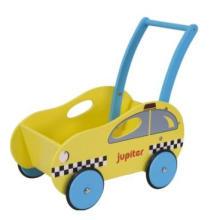 Wooden Dollspram / brinquedo educacional de madeira / Slider Kid Toy Woody
