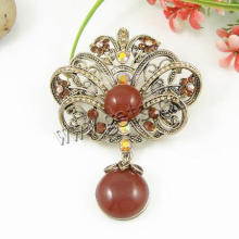 Gets.com zinc alloy rhinestone brooch small brooch
