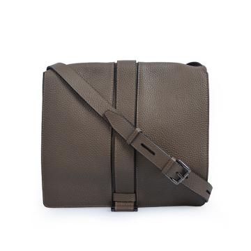 2019 Trendy Flap Closure Women Leather Crossbody Bags