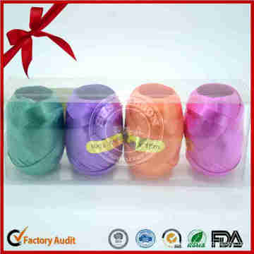 Cheap Holographic Ribbon Egg for Party Decoration