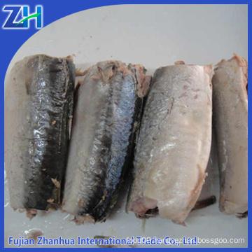 salt fish mackerel in can