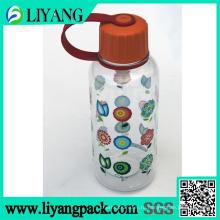 Цветочный дизайн, пленка передачи тепла для пластичной бутылки воды