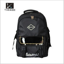 Mochila escolar, mochilas de diseño nuevo, mochila portátil barata en acciones