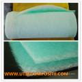 Matériau du filtre à air avant en fibre de verre