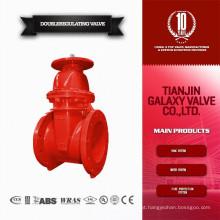 UL fm aprovou válvula de portão de haste PN 16 na China Fornecedores