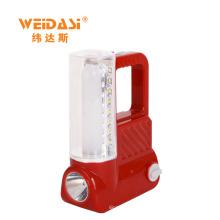 lanterna de acampamento plástica recarregável portátil da bateria acidificada ao chumbo por atacado