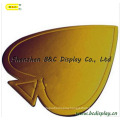 Different Shape Gold Foil Paper Cake Drums with SGS (B&C-K024)