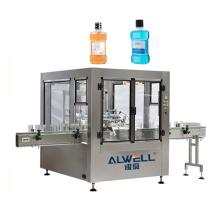 Automatic mouthwash filling machine and  PET plastic bottle