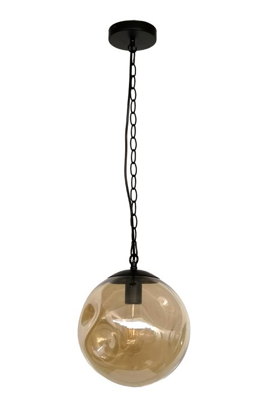 Ball Amber Lamp