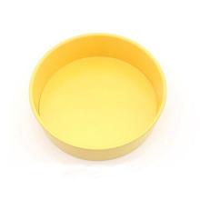 "Molde Redondo Para Pastel De 10 ""Con Fondo Removible - Amarillo"
