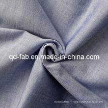 Tissu 100% coton teinté en fil de coton (QF13-0749)