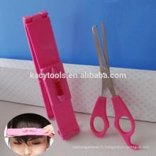 Ensemble d'outils coupe-cheveux avec interrupteurs rotatifs