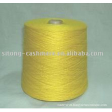 cashmere/silk blended yarn, cashmere pashmina knitting yarn, spun silk and cashmere blended yarn