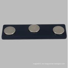 Schwarzes NdFeB Magnetisches Namensschild für Tagging