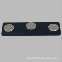 Black NdFeB Magnetic Name Badge for Tagging