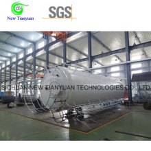 0.8MPa Working Pressure Lar/Ln2/Lo2 Cryogenic Liquid Storage Tank