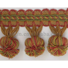 Wholesale chainette polyester fringe