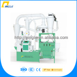 220V/380V milling machine 125KG/hr 625KG/hr small automatic wheat flour milling plant