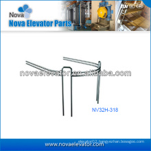 Customized Elevators Components / Parts, Stainless Steel Observation Elevator Handrail