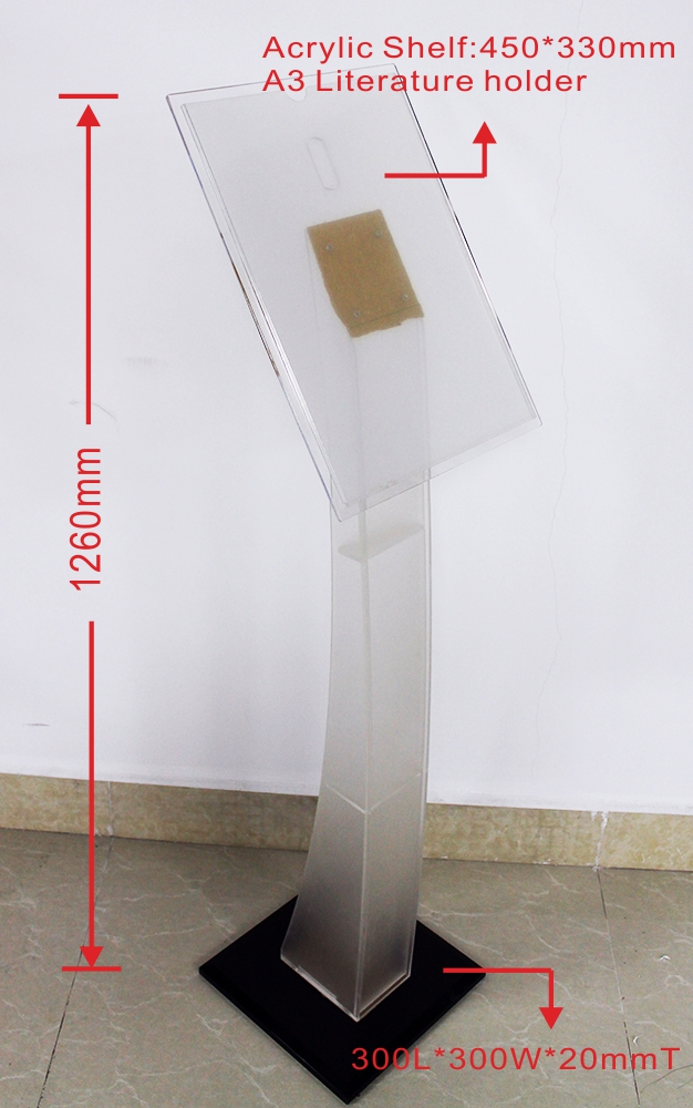 Ds V002 Free Standing Sign Holder Display Stand