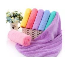 High Density Coral Fleece Bath Towel