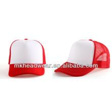 Wholesale trucker foam mesh cap in plain design