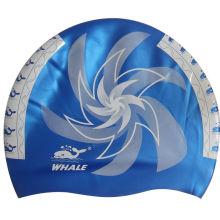 Multi Color Silicone Swimming Caps, Design Your Own Swim Cap With Ce Certificate