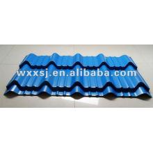 Hoja del azulejo de azotea de acero de color
