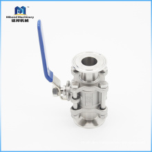 Fast Delivery Sanitary Stainless Steel Customized Size ball valve made in italy